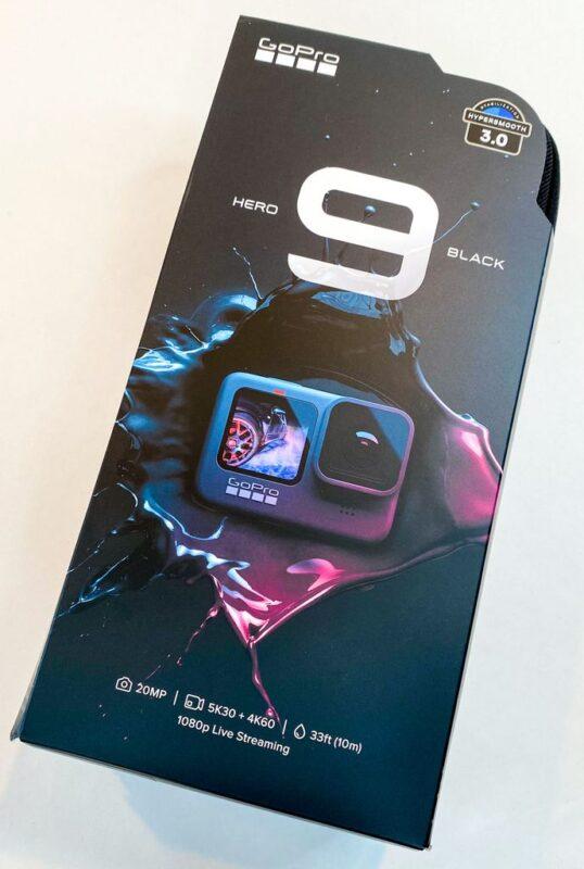 GoPro Hero9 パッケージ